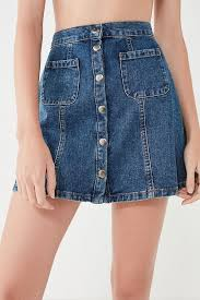 denim skirt bdg denim button front skirt outfitters