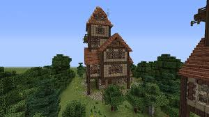 How To Make Building Plans For Minecraft by How To Build A Beautiful Medieval House Minecraft Blog