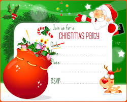 Christmas Party Invitations With Rsvp Cards - christmas party invitations templates christmas party invitations