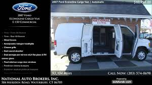2007 ford econoline cargo van e 150 commercial national auto