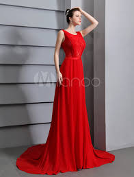 red prom dresses 2017 long backless evening dress lace insert