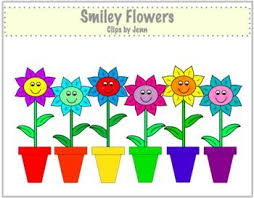 Smiley Flowers - smiley flower cliparts clip art library