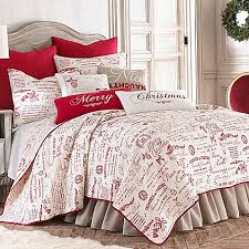 levtex home merry way quilt set bed bath beyond