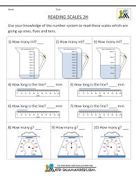 measurements worksheets worksheets