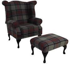 Tweed Armchair Grey Armchairs Ebay