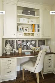 Kitchen Desk Design Captivating Best 25 Built In Desk Ideas On Pinterest Nook Office