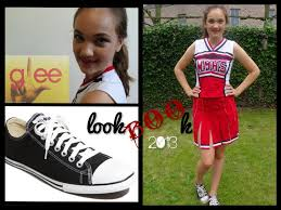 Cheerleader Costume Halloween Glee Cheerleader Inspired Hair Makeup U0026 Halloween 2013