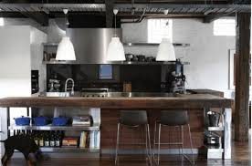 Industrial Kitchen Islands Awesome Kitchen Design Industrial Style