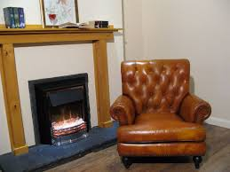 Leather Armchair Ebay Beautiful Real Leather Chesterfield Armchair Colour Tan Leather