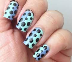 nail art tutorial two tone dotticure nail it