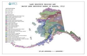 Alaska State Map by Soil Surveys Nrcs Alaska