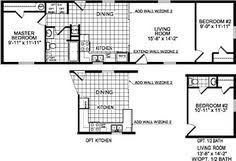 single wide mobile home floor plans bookks pinterest single