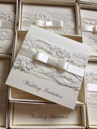 wedding invitations ebay new personalised handmade luxury vintage lace bespoke wedding