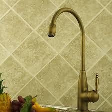 brass kitchen faucets centerset antique brass kitchen faucet faucetsuperdeal com