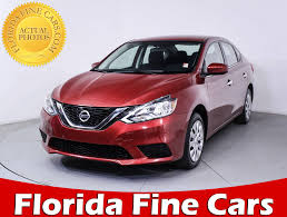 nissan finance excess mileage charge used 2016 nissan sentra sv sedan for sale in miami fl 85530