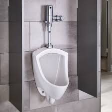 Home Urinal by Pintbrook Urinal System 0 125 Gpf Selectronic Flush Valve
