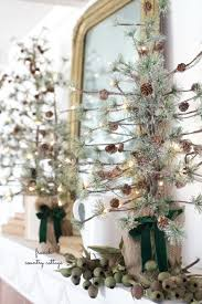 Twig Tree Home Decorating Five Ways To Use A Pine Cone Tree In Your Home Décor Balsam Hill