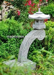 grey japanese garden lantern sculpture for sale buy garden