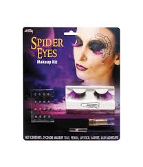 spider lashes and makeup women costume kit girls costumes kids