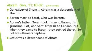 abraham gen intro u2026noah u0027s descendants shem u0027s descendants made up