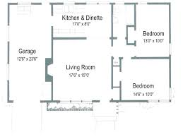 floor plan square foot house main under sq ft including garage