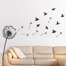 Bird Wall Decals For Nursery by Dandelion Birds Vinyl Wall Sticker Picture Design Pinterest
