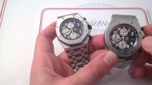 audemars piguet royal oak offshore 26470st luxury watch review