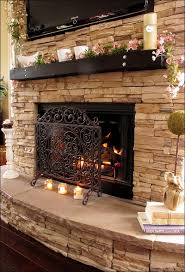 furniture faux stone veneer home depot lowes faux fireplace