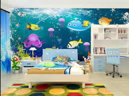 chambre enfant papier peint papier peint fond marin personnalisé chambre d enfant enfants