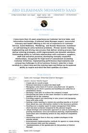 unit manager resume samples visualcv resume samples database