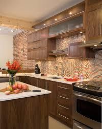 armoires de cuisine qu饕ec armoires de cuisine contemporaines en noyer québec cuisine