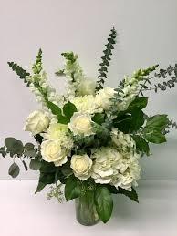 elegance all white elegance in lawrenceburg in artistic floral
