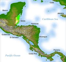 america map honduras where is belize geography and map of belize