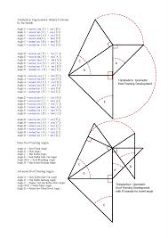 Roof Framing Pictures by Roof Framing Geometry Tetrahedron Trigonometric Identity Formulas