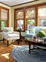 wall colors natural wood trim window shades living room paint
