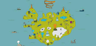 Iceland Map World About Us