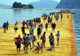 Floating Piers by File Christo Floating Piers 6587 Jpg Wikimedia Commons
