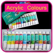 sets pcs ml lot nail art design inspiration best acrylic paint for nail art