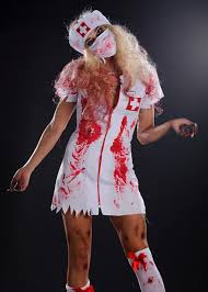Nurse Costume Halloween Size Zombie Nurse Halloween Costumes Size Prom Dresses