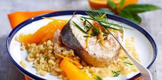 cuisiner du merlu merlu à l orange facile et pas cher recette sur cuisine actuelle