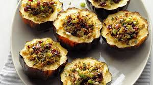 wild rice stuffed squash recipe taste of home