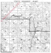 Plat Maps 1924 Morris Township Shawano County Plat Map