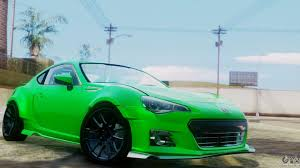 subaru brz rocket bunny white subaru brz for gta san andreas