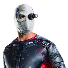 squad light up deadshot mask accessories u0026 makeup