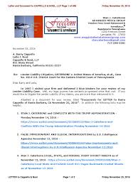 vitally important letter and document to cappello u0026 noel llp of