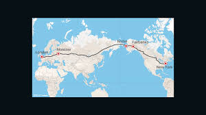 Iditarod Map Road From Europe To U S Russia Proposes Superhighway Cnn Travel