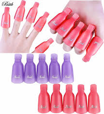 aliexpress bittb 10pcs reusable gel nail polish remover wrap nail