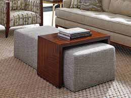 Large Ottoman Coffee Table Sofa Brown Leather Ottoman Coffee Table Large Storage Ottoman