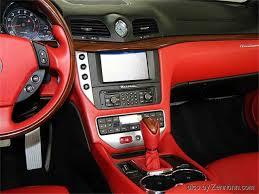 maserati granturismo convertible red interior 2013 maserati granturismo convertible for sale classiccars com