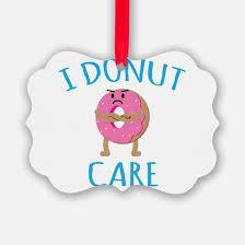 donut ornament cafepress